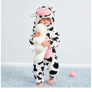 Most adorable baby/toddler cow costume